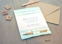 Today's DIY is so cute and clever, a good combination! This is a really simple project… all you need to do is download the free template, fill in or print your info (or use a cute custom stamp), cut along the crop marks and dotted lines and slip in your pencils. We also love ... [Read more...]