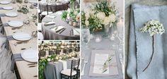 Grey Wedding Theme Colour — LILAC & WHITE