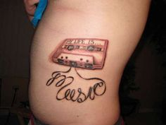 My life is.. MUSIC tattoo - Rate My Ink - Tattoo Pictures & Designs