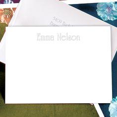 Embossed Graphics Edwardian Correspondence Card Set ($34.95 for 50)