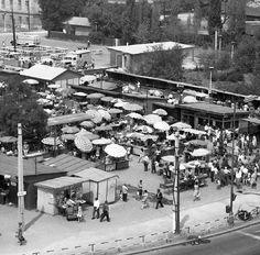 Trnavské 2. Prakticky skoro tá istá snímka  (Trnavské 1) po krátkom časovom úseku. Asi 1965 Bratislava, Times, Drink, History, Food, Beverage, Historia, Essen, Meals