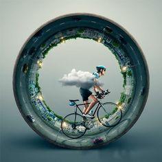 bicycle-in-white:  Шины Totem.  Мир вращается вокруг твоего велосипеда. #bicycle #велосипед #вело #fixed #fixie #fixedgear #advertising #реклама http://ift.tt/123i3di
