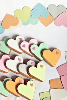 Valentin cookies