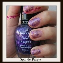 KleanColor Nail Lacquer ~ Sparkle Purple Get the OPI polish look for less! KleanColor nail lacquer is formulated with a long lasting, chip resistant formula in over 300 trend setting colors. Take your nail art to a new level with Frugally Fashionable. All our KleanColor nail polish ...