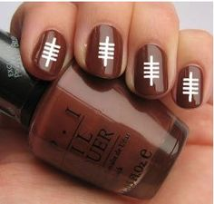 Football Nail Decal Sticker Pack