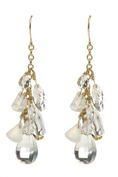 CHARME SILKINER  Ella Earrings 39% Off - $107