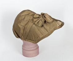 #7474 Regency bonnet at VintageTextile.com