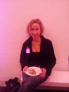 Wilma Geldof. Symposium 'De kunst van het schrijven', Centraal Museum, Utrecht, 29-11-2013.