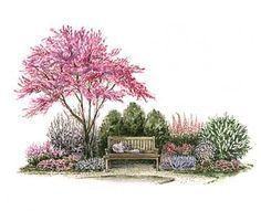 Garden Planning A NOOK GARDEN; Plans designed and layout with identification - Create a garden nook where you can lose yourself on sunny days. Vegetable Garden Planner, Vegetable Garden Design, Garden Design Plans, Landscape Plans, Landscape Design, Garden Nook, Garden Cottage, Backyard Lighting, Cottage Design