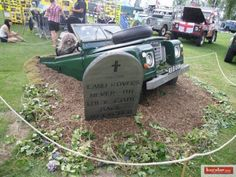 LandRover 60 years isn't really that old.