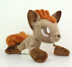 Transform this fox pattern into Vulpix with my free add-on pattern at http://www.teacuplion.com/category/free-plushie-patterns/  Sew cute and kawaii cuddly fox, Pokemon, dog, or wolf stuffed animals with this DIY plush sewing pattern and photo tutorial! Learn how to make your own high quality handmade plushies using my helpful sewing techniques and tips.  ** This is a digital PDF for the sewing patterns & instructions only. Paper pattern, materials, accessories, or finished product are not…