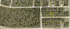 348-350 Reeves St, FL - Aerial map  duplex lot on sale in SW Florida