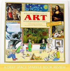 Take a look inside this amazing new book on Art History for Children.