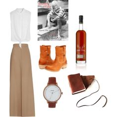 Tara's Birthday Wish List 2012 by tara-firma featuring frye bootsEquipment tie front blouse, $185Chloé pleated maxi skirt, $1,149Frye boots, $338Nixon watch, $125GEORGE T. STAGG George T. Stagg Cask Strength Bourbon, £145Brown Leather Journal with Antique Skeleton Key - Inspired by the…, $32