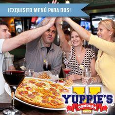 Pizza y Más Para 2 en Yuppie's Condesa Cupón, descuento, ofertas, Cuponatic