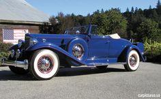 1933 Packard Twelve 2-4 Passenger Coupe Roadster