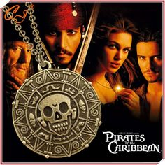 HOT SALE - Pirates of the Caribbean Necklace Skulls - The Aztec Gold COIN     Tag a friend who would love this!     FREE Shipping Worldwide     Buy one here---> https://ihappyshop.com/european-and-american-movie-pirates-of-the-caribbean-necklace-skulls-the-aztec-gold-coins/