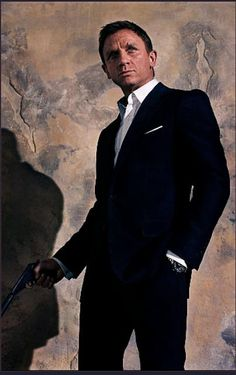 "Daniel Craig as 007 - the suit, from ""Quantum of Solace"""