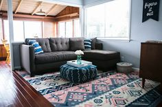 Odds & Ends: How to Choose the Right Size Rug for Your Room