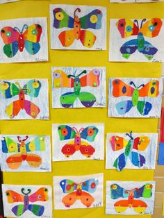 Zilker Elementary Art Class: Zilker's 2014 School-wide Student Art Show Kindergarten Art Lessons, Art Lessons For Kids, Art Lessons Elementary, Art For Kids, Classroom Art Projects, Art Classroom, Spring Art Projects, Eric Carle, Insect Art