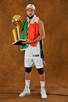 Spurs Marco Belinelli. Spurs 2014 NBA FINALS CHAMPIONS