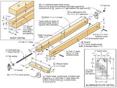 ❧ Bandsaw fence