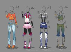 Some Outfit Adopts #3 - sold by Nahemii-san.deviantart.com on @deviantART