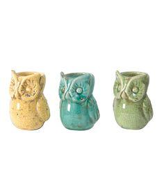 Owl Candleholders