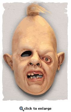 The Goonies Sloth Mask @Alyssa Perry - I don't want this but now you can see it.