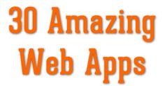 30 Amazing Free Online Web Applications