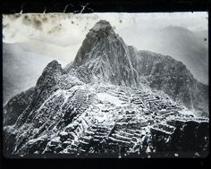 Machu Picchu, Peru, c1920. From the collection of First World War hero, naturalist, ornithologist Lord William Percy.