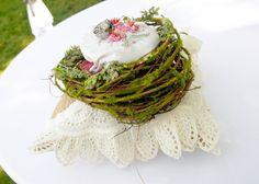 apple orchard weddings, birds nest for ring bearer, outdoor weddings. August 24, Apple Orchard, Outdoor Weddings, Ring Bearer, Nest, Birds, Ethnic Recipes, Food, Nest Box
