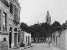 1908 - Largo do Payssandú, visto da rua Amador Bueno, atual rua do Boticário.