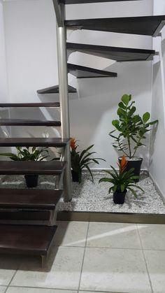 Jardin bajo escalera