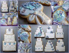 Wedding Hydrangeas by Redbud Cookies