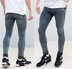 44e01fd5f0c6 Skinny jeans for men  jeans  men  fashion for men Anziehen, Superenge Jeans
