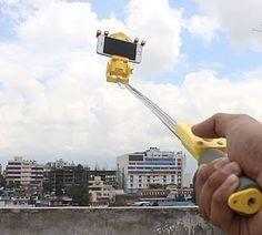 Baru!! 360 Smart Rotation selfie stick(Tongsis 360)  Tongsis canggih untuk menunjang hobi fotografi dan dokumentasi video kamu dengan holder yang bisa rotasi/ muter 360 derajat!! Gak perlu muter badan buat ngeview sekeliling cukup pakai tongsis ini aja.  Mudah digunakan  Cuma perlu nyalakan pairing dengan bluetooth Hp mu dan voilaa tinggal pencet tombol tongsis mu.. Ada remote kontrol dan tongsis ini sdh tersedia baterai sehingga memudahkan kamu mengabadikan gambar maupun video tanpa…