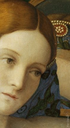 Giovanni Bellini - Young Woman at Her Toilette - Detail