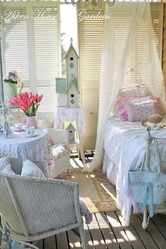 Cute cottage bedroom