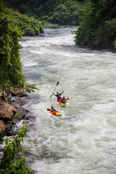 Ever thought of whitewater kayaking Africa's Nile River? Get more info: