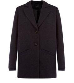 Black Boyfriend Blazer Coat