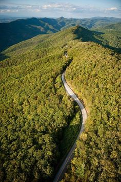 """Blue Ridge Parkway - North Carolina  (rePinned 082113TLK)  """"I like calling North Carolina home!""""  Some of the most beautiful countryside in the world!"""