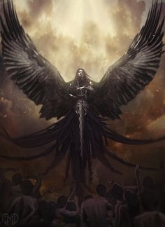 The Angel of Death The concept is from my close friend. He drew me a sketch and…