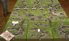 Great War trench terrain from No-Man's Land