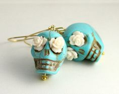 day of the dead lovely Turquoise