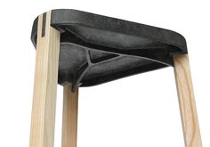 FS Stool by Beat Karrer - Made of a biopolymer FluidSolids