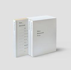 Miron Białoszewski | Editorial Design on Behance