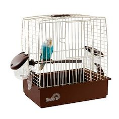 Transport your small Parrot safely with this Riviera Nice - Small Bird Travel Cage