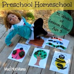 36 week Preschool Curriculum -- to check out later.