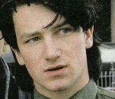 U2 ~ Bono, the early years. I L<3VE this picture